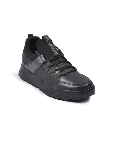 Slazenger Zeber Siyah-Siyah Unisex Spor Ayakkabı Siyah